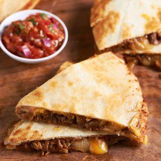 Beef Brisket Quesadillas