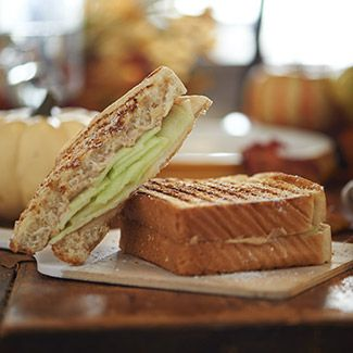 Spiced Apple & Pear Breakfast Panini