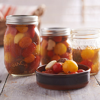 Canned Marinated Tomatoes