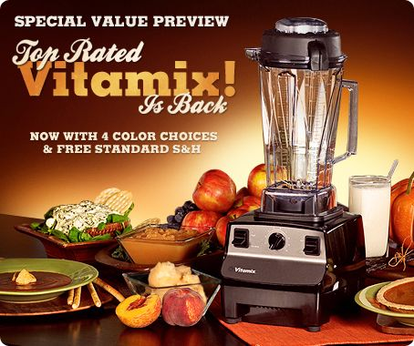 Vitamix Creations variable speed 10-in-1 blending machine