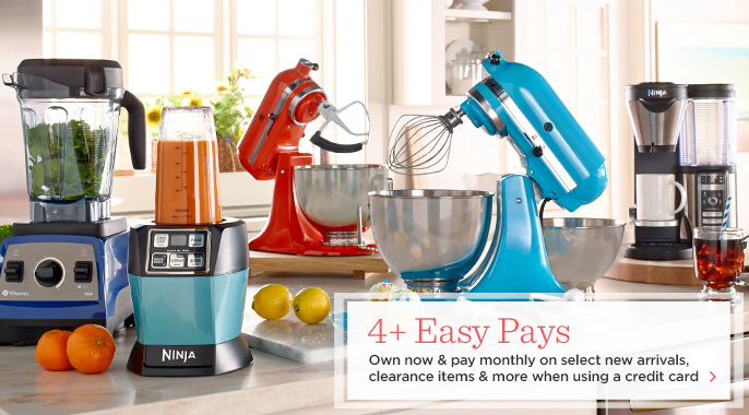 4+ Easy Pays on Kitchen Musts