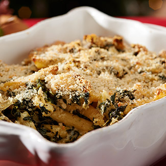 Chicken, Spinach & Artichoke Casserole