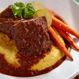 Chocolate and Chile Braised Short Ribs