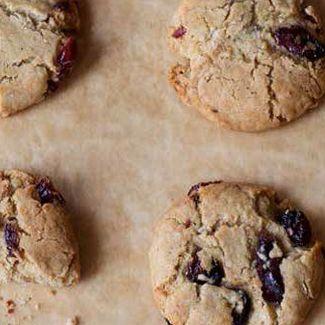 Cranberry Oat Cookies