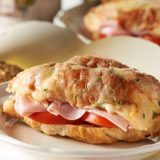Ham & Goat Cheese Sandwich