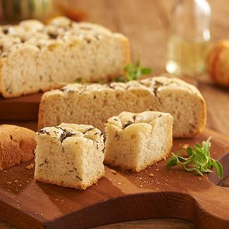 Italian Herb Slow Cooker Focaccia Bread