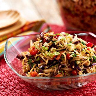 General Tso's Noodle Salad