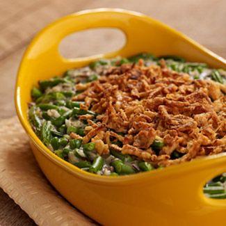 Skinny Green Bean Casserole