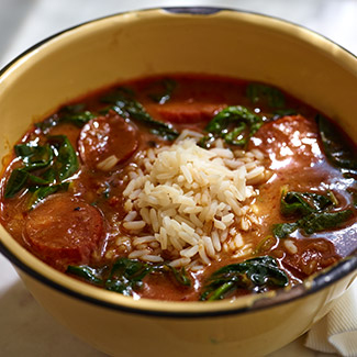 Hearty Green Gumbo
