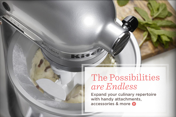 KitchenAid Accessories & Attachments