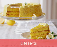 Sweet Endings Lemon Cake