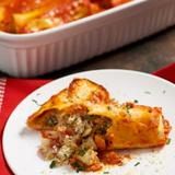 Cheesy Veggie Manicotti