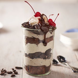 Overnight Cookies and Cream Delight