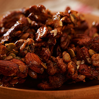 Sweet & Savory Nut Clusters