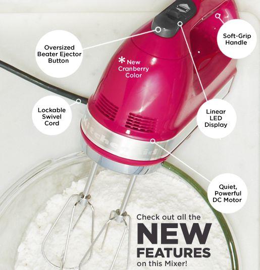 kitchenaid 9 speed digital hand mixer. kitchenaid 721 series 7-speed digital hand mixer w/ bag \u0026 dough hooks - page 1 \u2014 qvc.com kitchenaid 9 speed