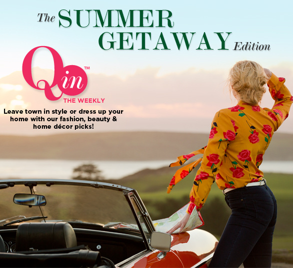 Q In Weekly Magazine SUMMER GETAWAY EDITION
