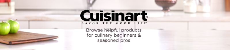 Cuisinart,  Browse helpful products for  culinary beginners & seasoned pros