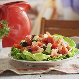 Savory Watermelon Salad
