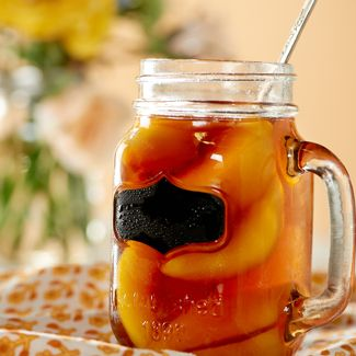 Spiked Peach Tea