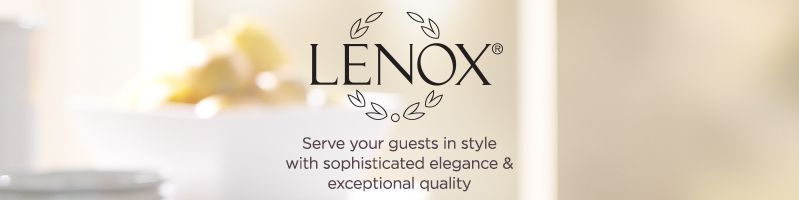 Lenox.  Serve your guests in style with sophisticated elegance & exceptional quality