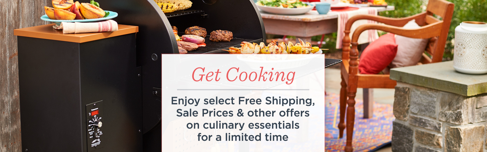 Get Cooking. Enjoy select Free Shipping, Sale Prices & other offers on culinary essentials for a limited time