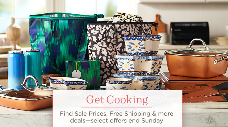 Get Cooking. Find Sale Prices, Free Shipping & more deals—select offers end Sunday!