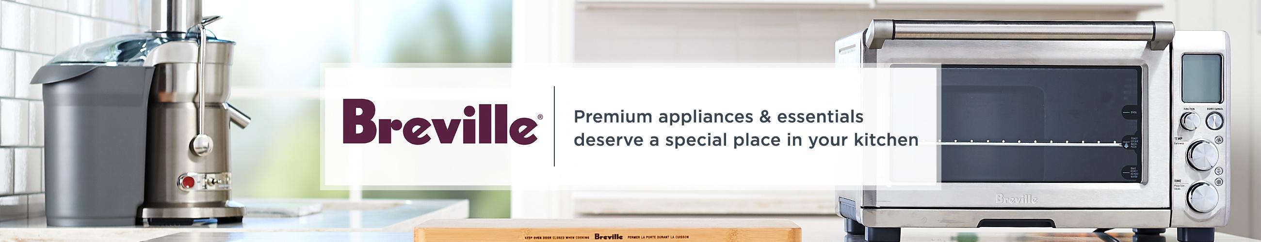 Breville, Premium appliances & essentials deserve a special place in your kitchen.