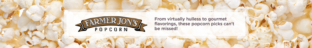 Farmer Jon's Popcorn From virtually hulless to gourmet flavorings, these popcorn picks can't be missed!