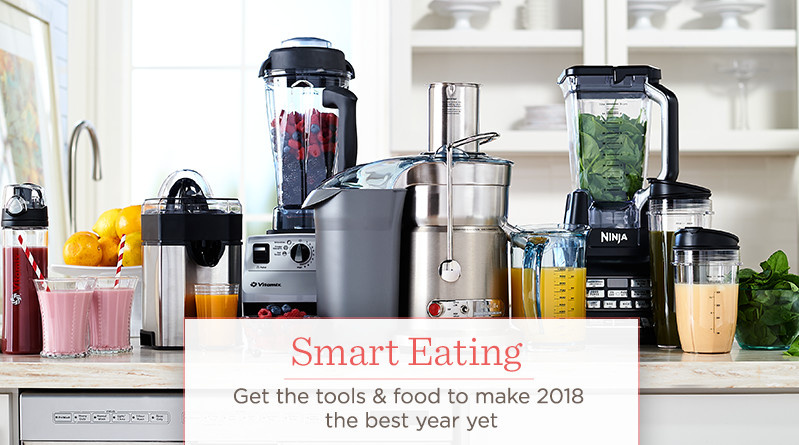 Smart Eating  Get the tools & food to make 2018 the best year yet