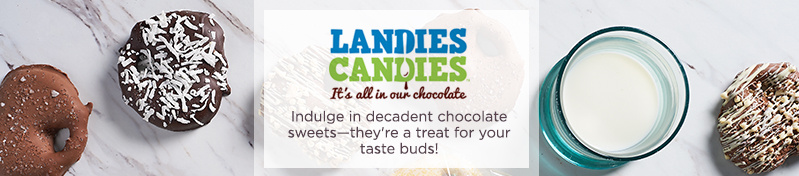 Landies Candies  Indulge in decadent chocolate sweets—they're a treat for your taste buds!