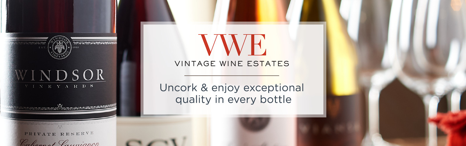 Vintage Wine Estates.  Uncork & enjoy exceptional quality in every bottle.