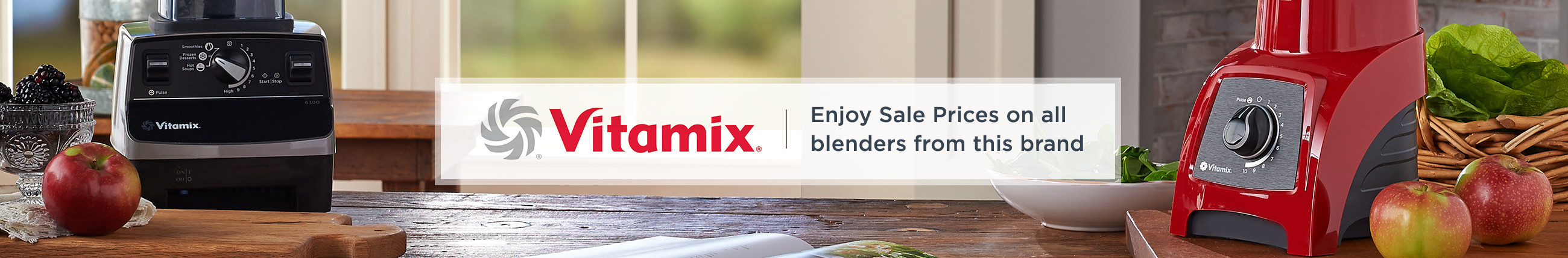 Vitamix. Enjoy Sale Prices on all blenders from this brand.