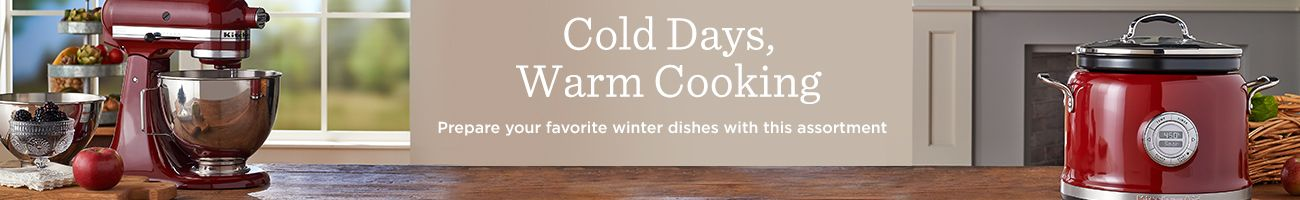 Cold Days, Warm Cooking,  Prepare your favorite winter dishes with this assortment