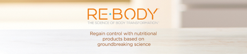 Re-Body. Regain control with nutritional products based on groundbreaking science