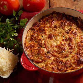 Tomato-Basil Gratin