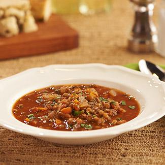 Slow Cooker Tomato-Lentil Soup
