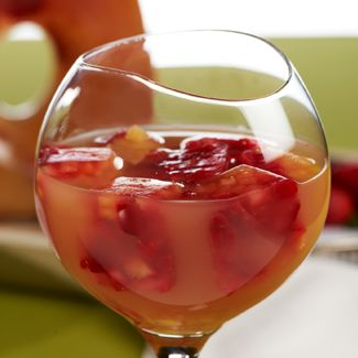 Tropical Fruit-Infused Iced Tea
