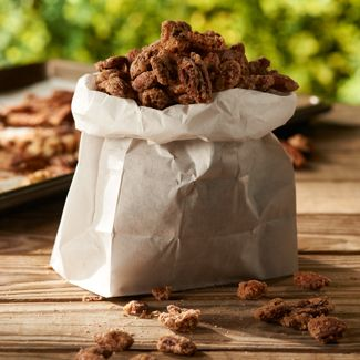Roasted Mixed Nuts with Cinnamon & Sugar