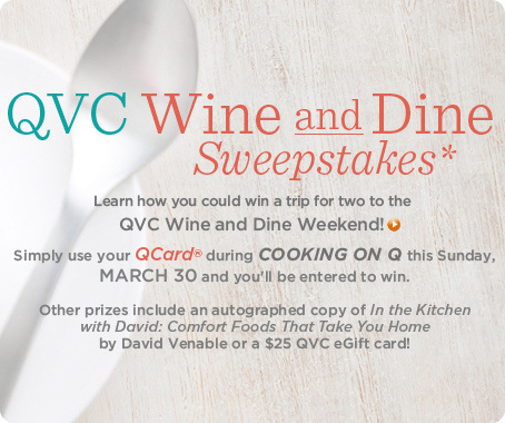 Cooking on Q(SM) Sweepstakes