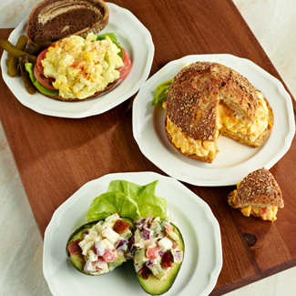 Egg Salad 3 Ways