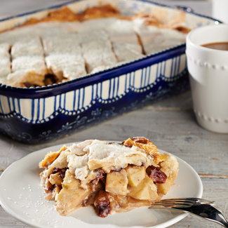 French Apple Slab Pie