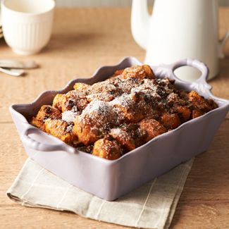 Chocolate Chip Pumpkin Bread Pudding
