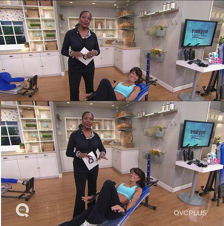 Jayne Brown with Total Gym