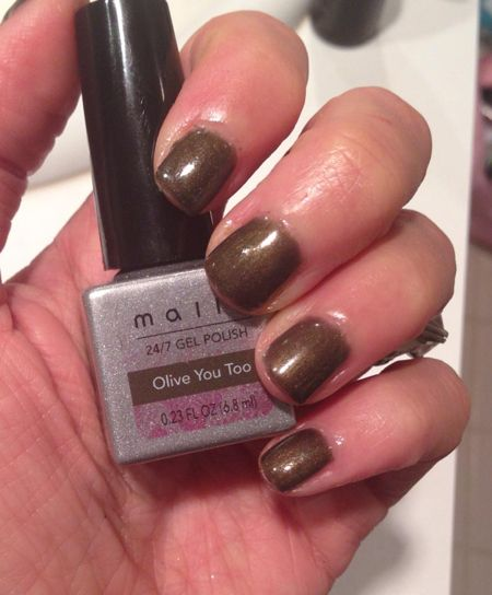The Solution Mally Beauty S Gel Polish I Like This Golden Olive Called You Too For Fall Have Tried System