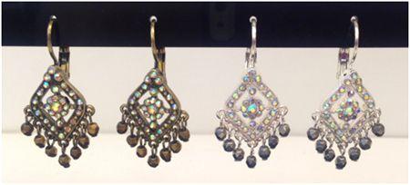 Joan Rivers Lavish Luxury Crystal Lever Back Earrings