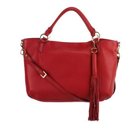G.I.L.I. Leather Medium Roma Tote - A227187