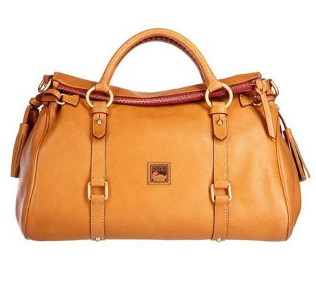Dooney & Bourke Florentine Vacchetta Satchel with Removable Strap - A215826