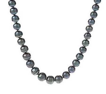 "Honora Cultured Freshwater Ringed Pearl 18"" Graduated Necklace - J264174"