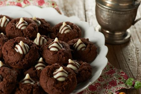 Chocolate Hug Cookies