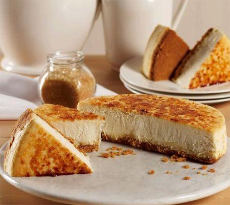 M29087 Juniors Crème Brulée Cheesecake